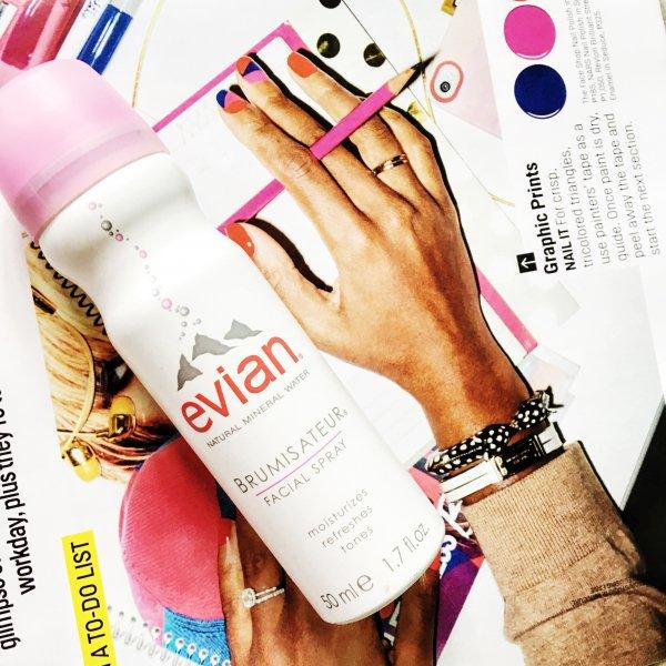 Evian, finger, nail, beauty, arm,