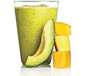Creamy Mango, Avocado and Lime Smoothie