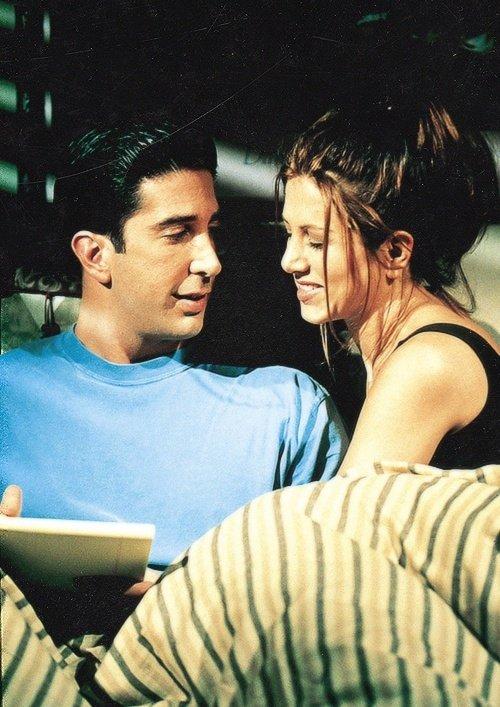 """Jennifer Aniston & David Schwimmer on """"FRIENDS"""""""