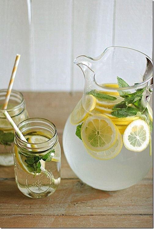 Lemon Water…