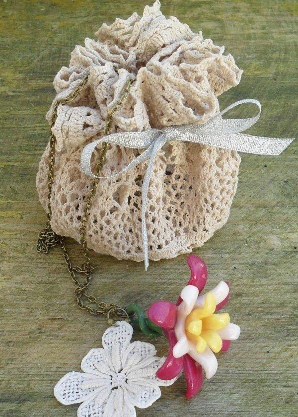 Dainty Drawstring Bag