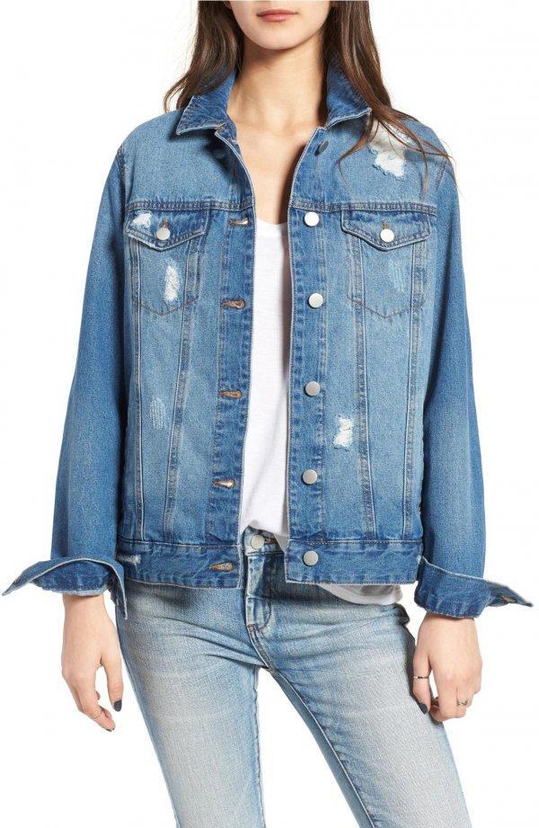 denim, jeans, clothing, leather, jacket,