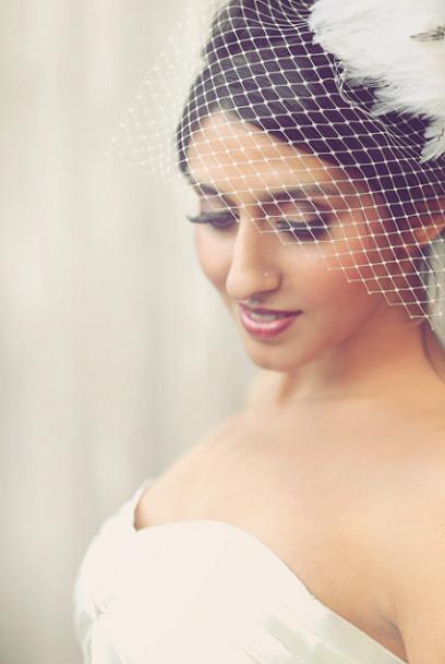 Smokey Eyed Bride...