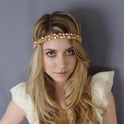 Gold Hippie Chick...