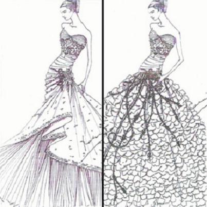 One Very Stylish Bride...