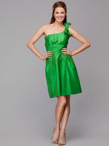 Green Bridesmaids...