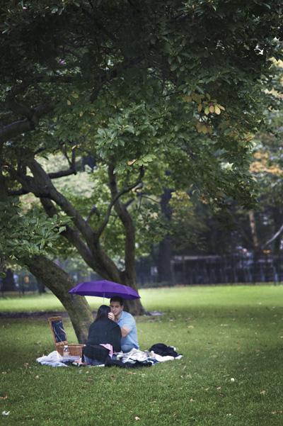 Rainy Day Picnic...