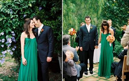 A Green Wedding Dress...