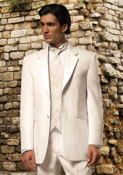 A Royal White Tuxedo...