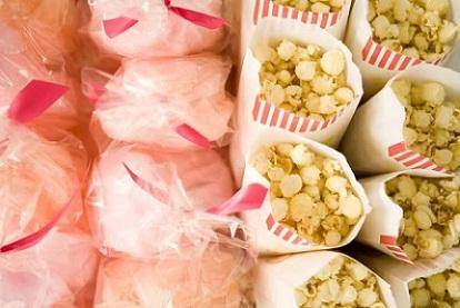 Cotton Candy & Popcorn...