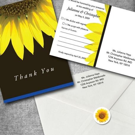 Inviting Sunflowers...