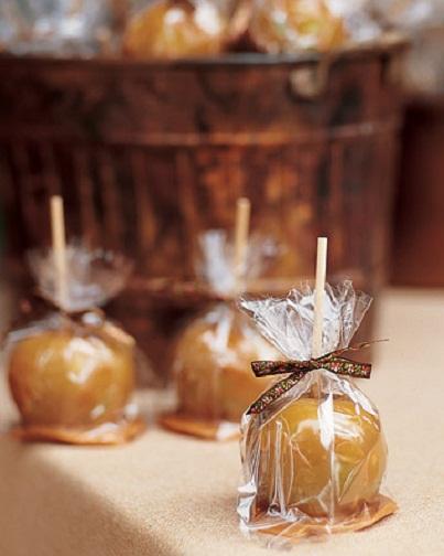 Caramel Apple Favors...