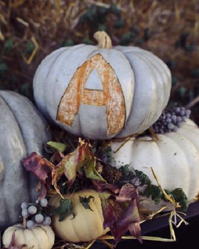 Personalized Pumpkin Decor...