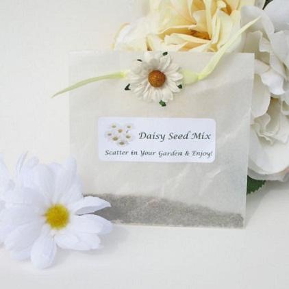Daisy Theme Wedding Favor