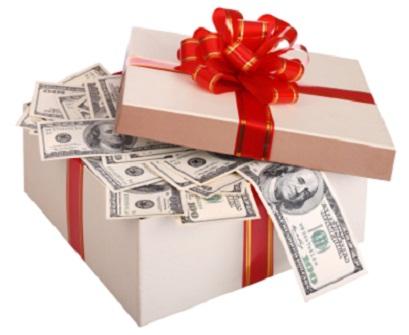 Cash Wedding Gift...