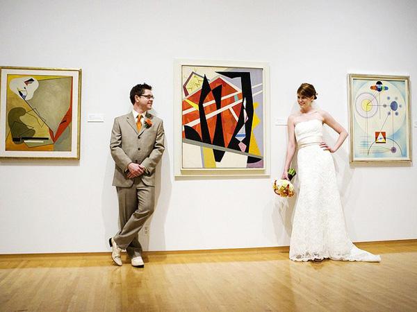 In an Art Gallery
