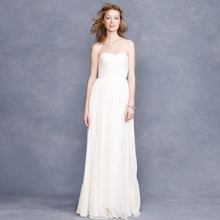 J.Crew Grecian Inspired Wedding Dress...