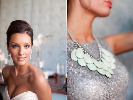 Mint Green Wedding Accessories...