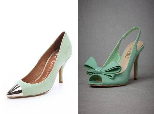 Mint Green Wedding Shoes...