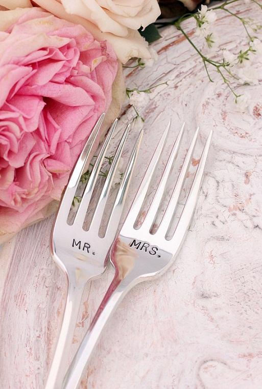 Mr. & Mrs. Fork Set...