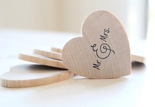 Mr. & Mrs. Wedding Favors...