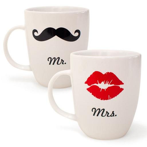 Mr. & Mrs. Mug Set...
