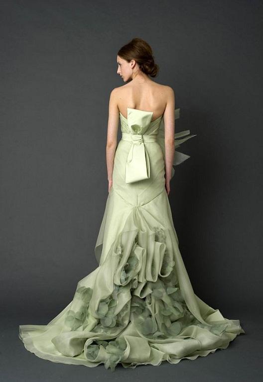Mint Green Wedding Dress...
