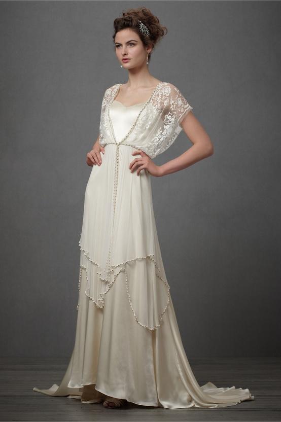 Bohemian Chic Wedding Dress...
