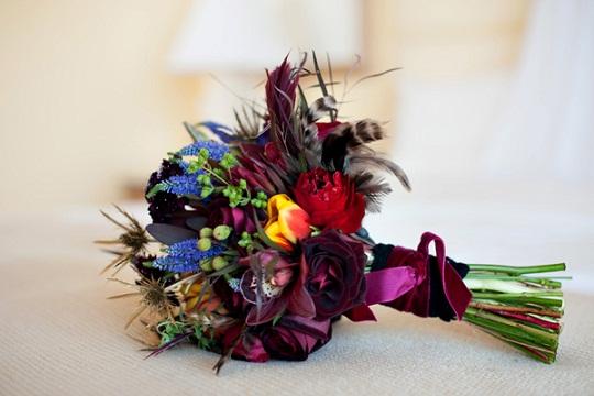 Bohemian Chic Wedding Bouquet...