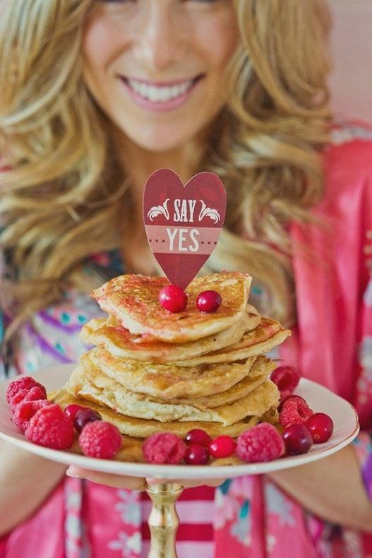 Breakfast in Bed Marriage Proposal...