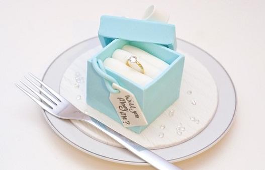 Marriage Proposal Cake...