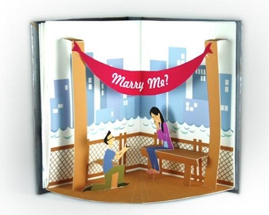 Pop up Engagement Book Proposal...