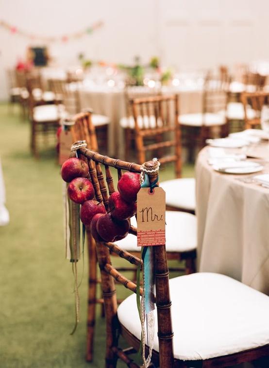 Apple Decor Wedding Chairs...