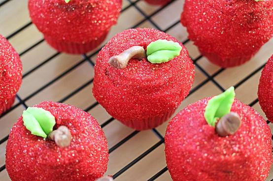 Apple Decor Wedding Cupcakes...