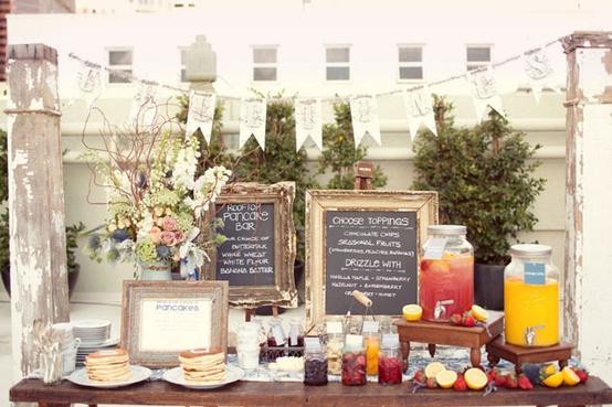 Foodie Themed Wedding Bar...