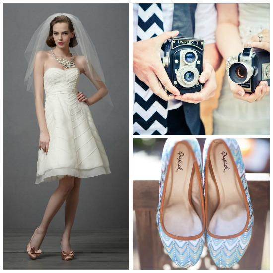 Chevron Themed Wedding Attire...
