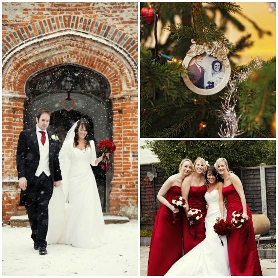 Christmas Holiday Theme Wedding...