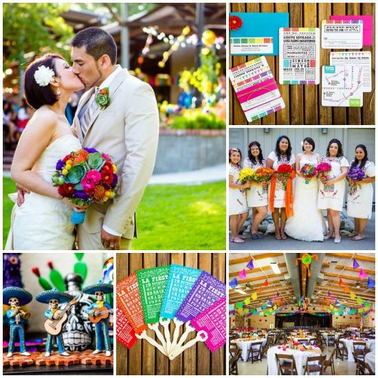 Cinco De Mayo Holiday Theme Wedding