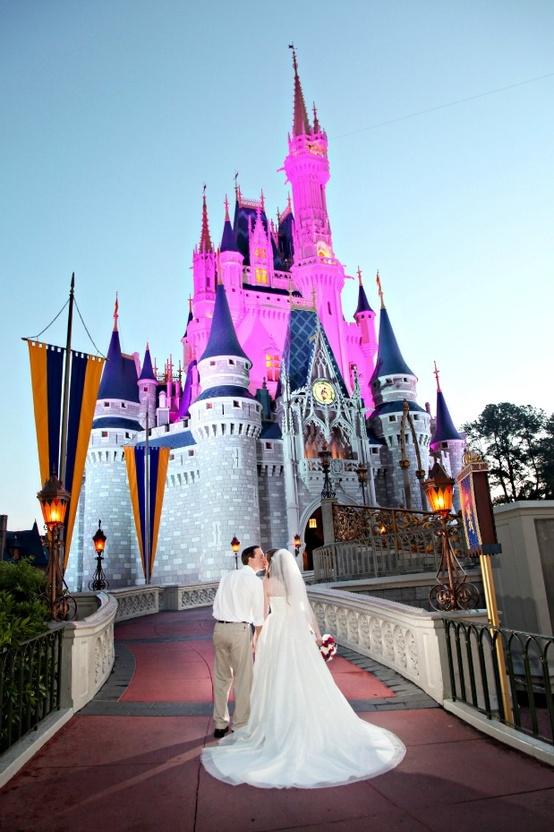 Disney Park Wedding after Party...