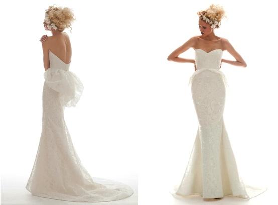 Elizabeth Fillmore Lace Gown...