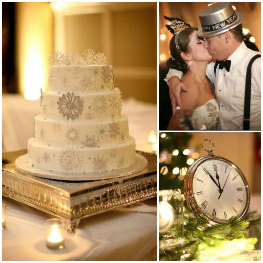 New Year's Eve Holiday Theme Wedding...
