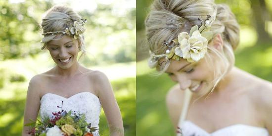 Simple Bridal Floral Crown...