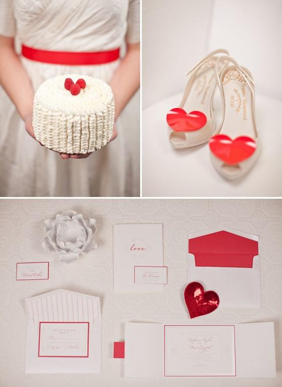 Valentine's Day Holiday Theme Wedding...