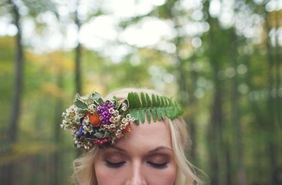 Fern Bridal Crown...