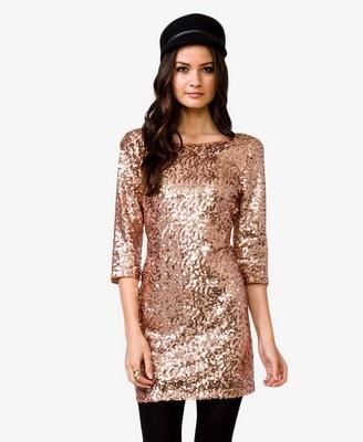 Sequined Elopement Dress...
