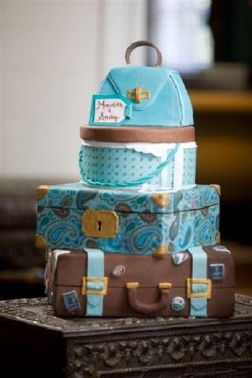 Travel Theme Groom's Cake...