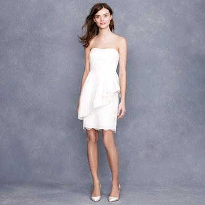 Peplum Elopement Dress...