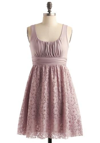 Pink Lace Elopement Dress...