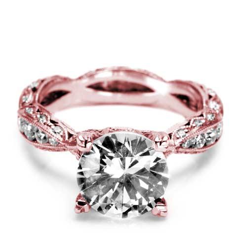 Tacori Rose Gold Twist Ring...