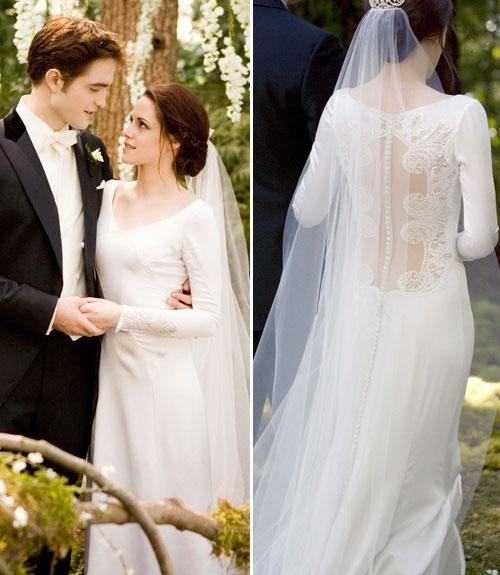 8 Beautiful Movie Wedding Dresses...